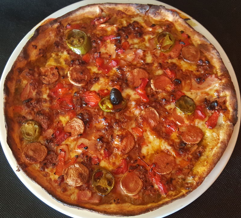 PIZZA JALAPEÑA